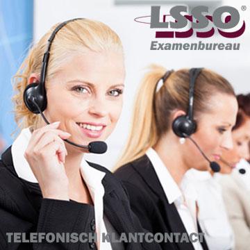 Informatie examens Telefonisch klantcontact | Examenbureau LSSO